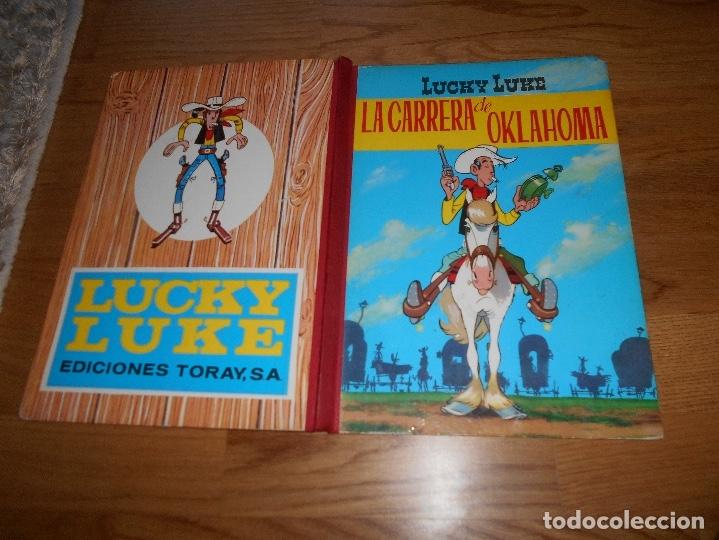 Tebeos: Lucky Luke. La carrera de Oklahoma. Segunda edición. 1969. Toray. - Foto 6 - 173445053
