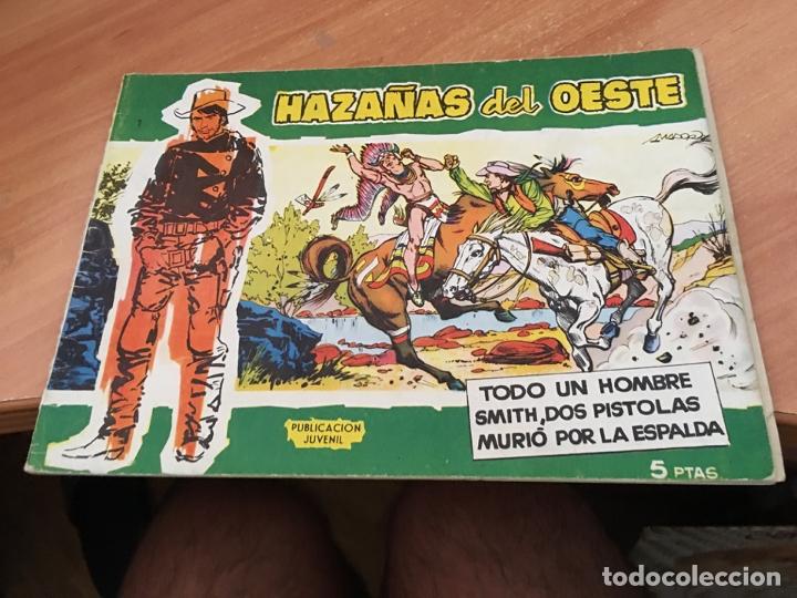 Tebeos: HAZAÑAS DEL OESTE LOTE Nº 1, 4 Y 10 (ORIGINAL TORAY) (COIB23) - Foto 2 - 173652120
