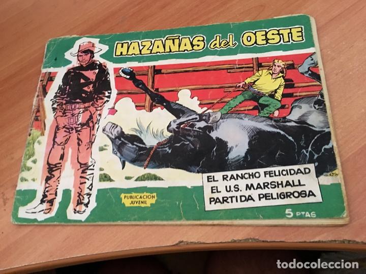 Tebeos: HAZAÑAS DEL OESTE LOTE Nº 1, 4 Y 10 (ORIGINAL TORAY) (COIB23) - Foto 3 - 173652120