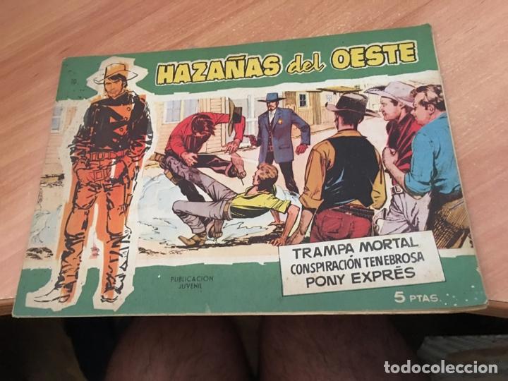 Tebeos: HAZAÑAS DEL OESTE LOTE Nº 1, 4 Y 10 (ORIGINAL TORAY) (COIB23) - Foto 4 - 173652120