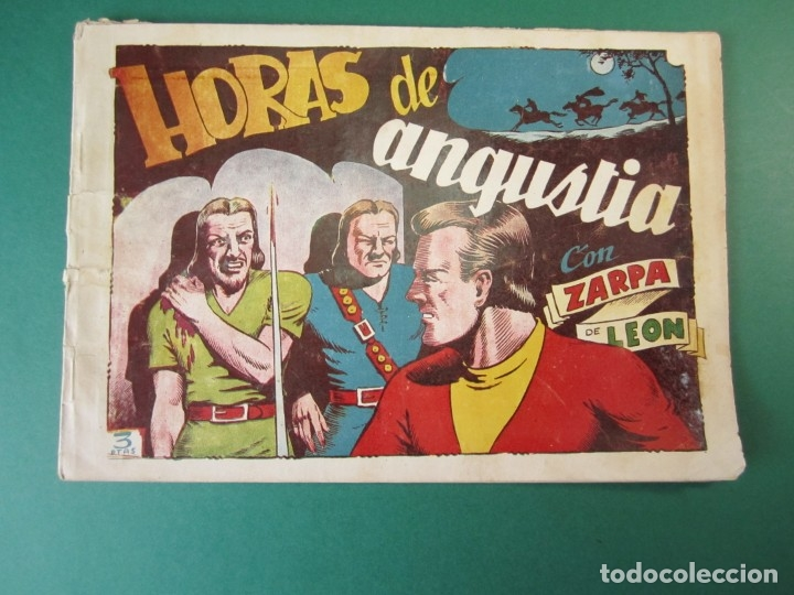 ZARPA DE LEON (1949, TORAY) 46 · 1950 · HORAS DE ANGUSTIA (Tebeos y Comics - Toray - Zarpa de León)