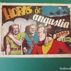 Tebeos: ZARPA DE LEON (1949, TORAY) 46 · 1950 · HORAS DE ANGUSTIA. Lote 173658730