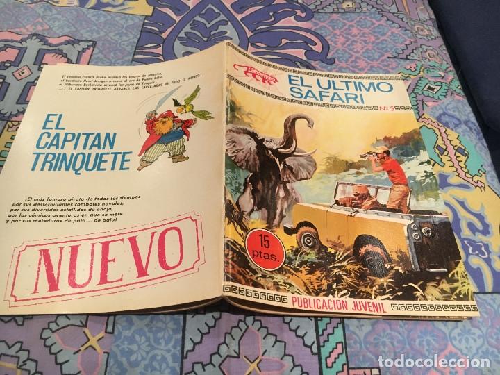 COLECCION LEOPARDO. Nº 5 EL ULTIMO SAFARI . TORAY 1970 (Tebeos y Comics - Toray - Otros)