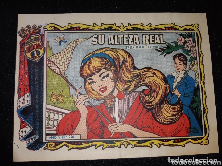 TEBEOS-CÓMICS CANDY- ALICIA 226 - TORAY- RARÍSIMO- AA99 (Tebeos y Comics - Toray - Alicia)