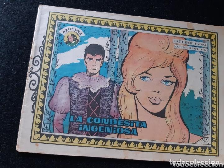 TEBEOS-CÓMICS CANDY - AZUCENA 783 - TORAY - RARO- AA99 (Tebeos y Comics - Toray - Azucena)