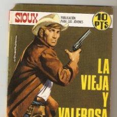 Tebeos: SIOUX - Nº 116 - LA VIEJA Y VALEROSA ¨MATILDE¨ - EDICIONES TORAY - 1968 -. Lote 173971303