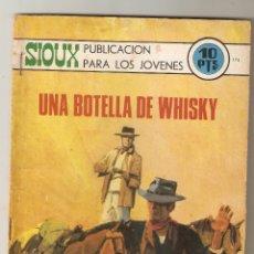 Livros de Banda Desenhada: SIOUX - Nº 174 - UNA BOTELLA DE WHISKY - EDICIONES TORAY - 1970 -. Lote 173971579