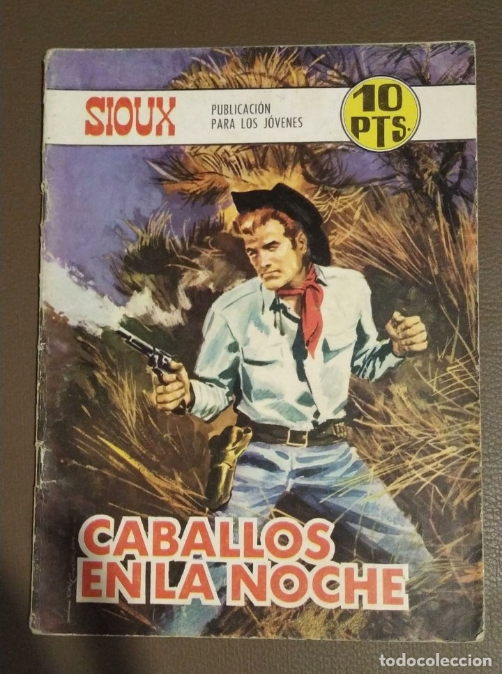 SIOUX, CABALLOS EN LA NOCHE. NUMERO 109. EDICIONES TORAY. (Tebeos y Comics - Toray - Sioux)