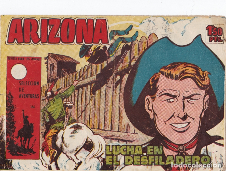ARIZONA LUCHA EN EL DESFILADERO LA FOTO VER FOTO ADICIONAL CONTRAPORTADA (Tebeos y Comics - Toray - Otros)