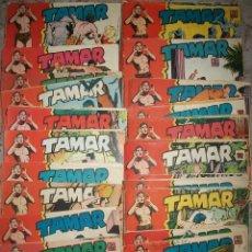 Tebeos: TAMAR LOTE DE 80 NUMEROS DIFERENTES. Lote 174094984