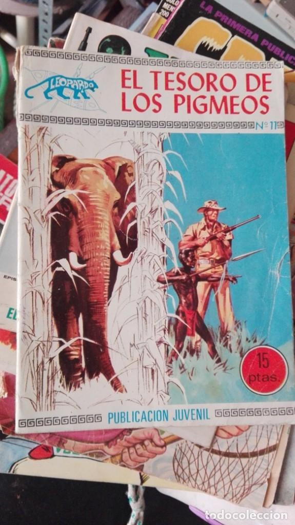 LEOPARDO 11 EL TESORO DE LOS PIGMEOS. EDICIONES TORAY 1971 (Tebeos y Comics - Toray - Otros)