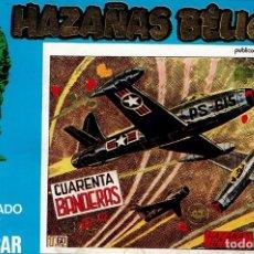 Tebeos: HAZAÑAS BELICAS EXTRA NUMERO 10 CONTIENE NUMEROS 137-138-139-140. Lote 174283495