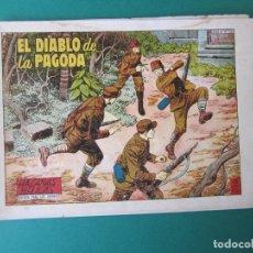 Tebeos: HAZAÑAS BELICAS (1950, TORAY) -2ª- 218 · 17-X-1958 · EL DIABLO DE LA PAGODA. Lote 261694145