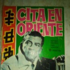 BDs: ESPIONAJE - Nº 8 -CITA EN ORIENTE- GRAN ANTONIO P. CARRILLO-1965- BUENO- ESCASO-LEAN-1874. Lote 174466822