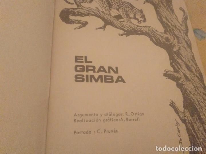 Tebeos: EL GRAN SIMBA Nº 12 LEOPARDO PUBLICACION JUVENIL EDICIONES TORAY 1971 - Foto 2 - 174504580