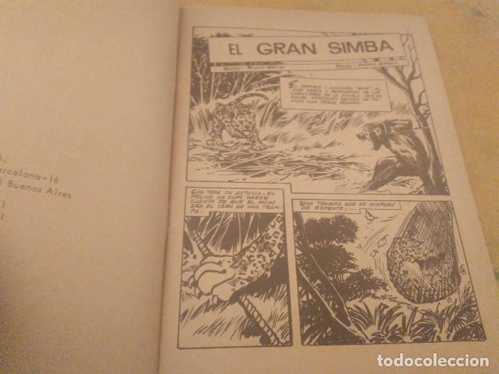 Tebeos: EL GRAN SIMBA Nº 12 LEOPARDO PUBLICACION JUVENIL EDICIONES TORAY 1971 - Foto 4 - 174504580