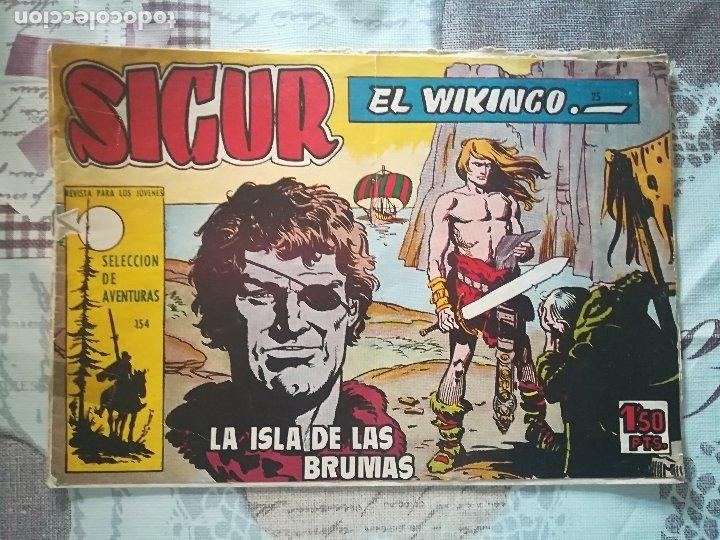 SIGUR EL VIKINGO Nº 25 (Tebeos y Comics - Toray - Otros)