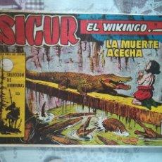 Tebeos: SIGUR EL VIKINGO Nº 24. Lote 175399285