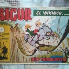 Tebeos: SIGUR EL VIKINGO Nº 19. Lote 175401000