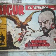 Tebeos: SIGUR EL VIKINGO Nº 10. Lote 175401272