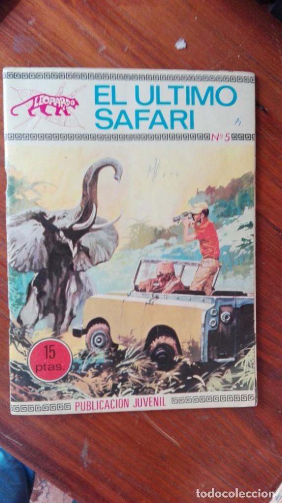 LEOPARDO 5 EL ULTIMO SAFARI. EDICIONES TORAY 1970 (Tebeos y Comics - Toray - Otros)