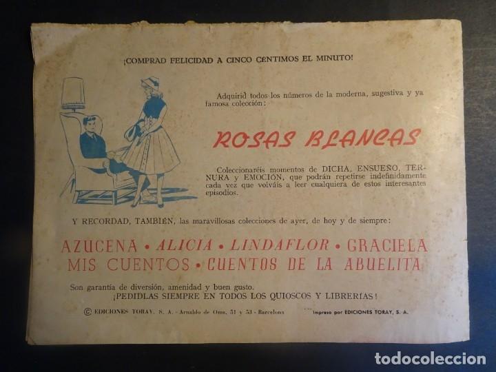 Tebeos: ANTIGUO TEBEO COLECCIÓN SUSANA Nº 27, DÍMELO AL OÍDO, ED. TORAY, VER FOTOS - Foto 5 - 175608662