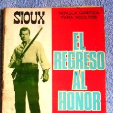 Tebeos: EL REGRESO AL HONOR - COL. SIOUX, NUM. 80 - DE EDIC. TORAY, EN 1967.. Lote 175727343