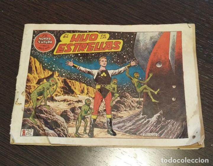 EL MUNDO FUTURO, AÑO 1, NUMERO 9. EL HIJO DE LAS ESTRELLAS. (Tebeos y Comics - Toray - Mundo Futuro)