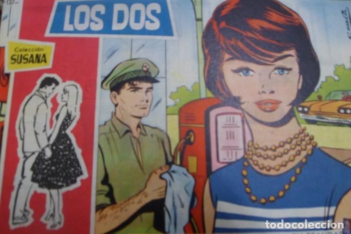 COLECCIÓN SUSANA Nº 137 TORAY REVISTA JUVENIL FEMENINA AÑOS 50 (Tebeos y Comics - Toray - Susana)
