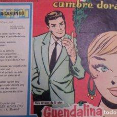 Tebeos: COLECCIÓN GUENDALINA Nº 77 TORAY REVISTA JUVENIL FEMENINA AÑOS 50. Lote 176629055