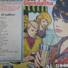 Tebeos: COLECCIÓN GUENDALINA Nº 111 TORAY REVISTA JUVENIL FEMENINA AÑOS 50. Lote 176629622