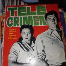 Tebeos: TEBEOS-CÓMICS CANDY - ESPIONAJE 7 TELE CRIMEN - TORAY - AA98. Lote 177044814