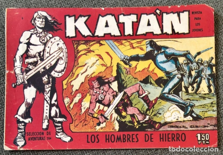 KATÁN NUMERO 1. ORIGINAL EDICIONES TORAY 1960. BUEN ESTADO (Tebeos y Comics - Toray - Katan)