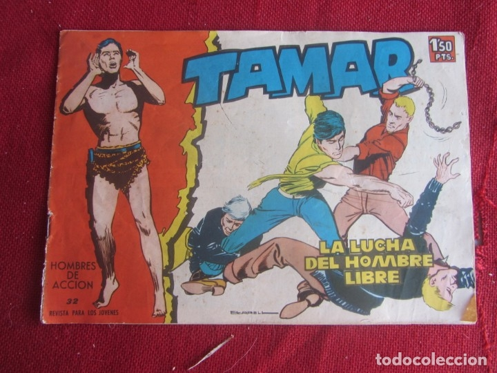 TAMAR Nº 32. ORIGINAL 1961 TORAY (Tebeos y Comics - Toray - Tamar)