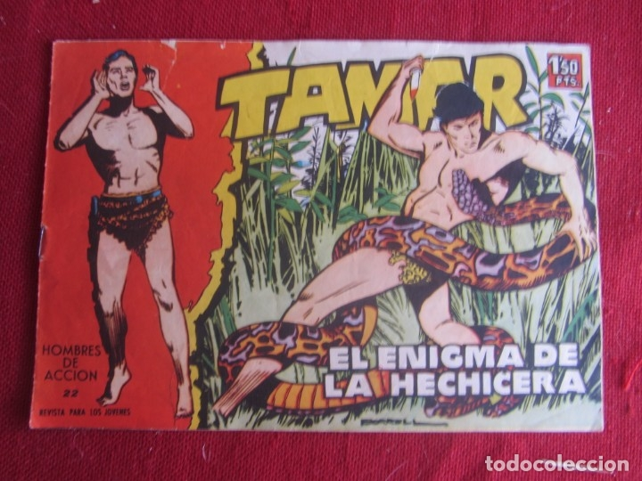 TAMAR Nº 22. ORIGINAL 1961 TORAY (Tebeos y Comics - Toray - Tamar)