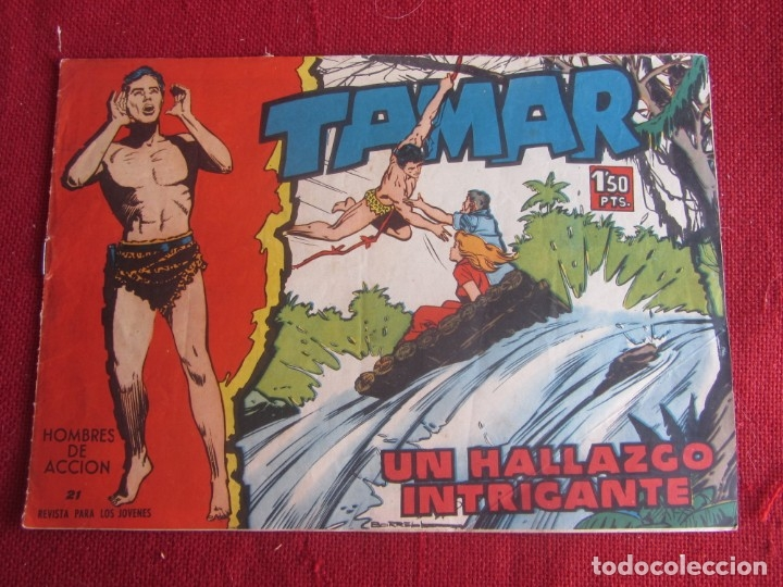 TAMAR Nº 21 ORIGINAL 1961 TORAY (Tebeos y Comics - Toray - Tamar)