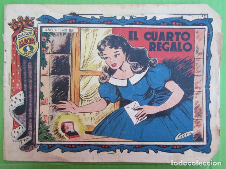 COLECCION ALICIA , NUMERO 88 , TORAY (Tebeos y Comics - Toray - Alicia)