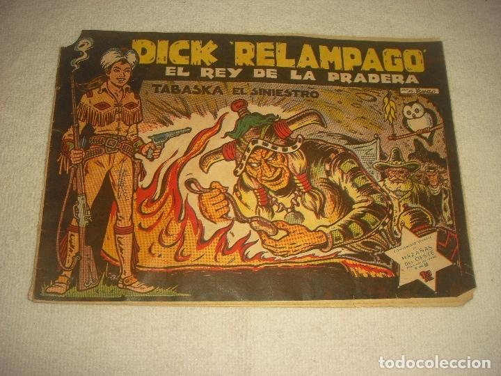 DICK RELAMPAGO N. 60. TABASKA EL SINIESTRO (Tebeos y Comics - Toray - Dick Relampago)