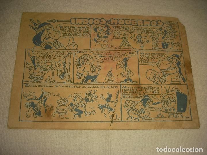 Tebeos: DICK RELAMPAGO N. 58 . SALDANDO CUENTAS. - Foto 2 - 177295208