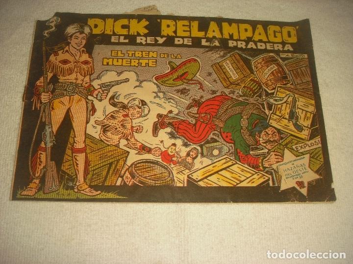 DICK RELAMPAGO N. 63 . EL TREN DE LA MUERTE. (Tebeos y Comics - Toray - Dick Relampago)