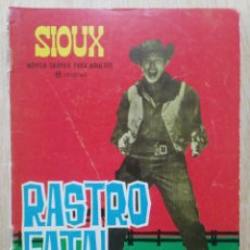 Tebeos: SIOUX - Nº 35, RASTRO FATAL - ED. TORAY. Lote 177637480