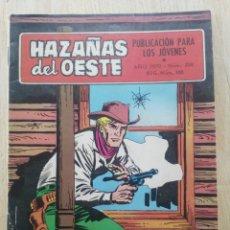 Tebeos: HAZAÑAS DEL OESTE - Nº 208 - ED. TORAY. Lote 177638199