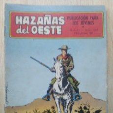 Tebeos: HAZAÑAS DEL OESTE - Nº 244 - ED. TORAY. Lote 177638248