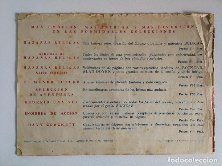 Tebeos: EL MUNDO FUTURO Nº 96: ENCUENTRO EN EL ESPACIO - DIBUJOS BOIXCAR (ED. TORAY 1955) - Foto 2 - 177725987