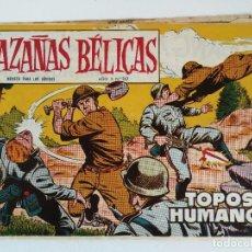 Tebeos: HAZAÑAS BÉLICAS Nº 262 - TOPOS HUMANOS /DIBUJOS BOIXCAR (ED. TORAY 1959) ORIGINAL. Lote 177726488