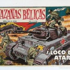 Tebeos: HAZAÑAS BÉLICAS Nº 264 - ¡LOCO DE ATAR! /DIBUJOS BOIXCAR (ED. TORAY 1959) ORIGINAL. Lote 177726698