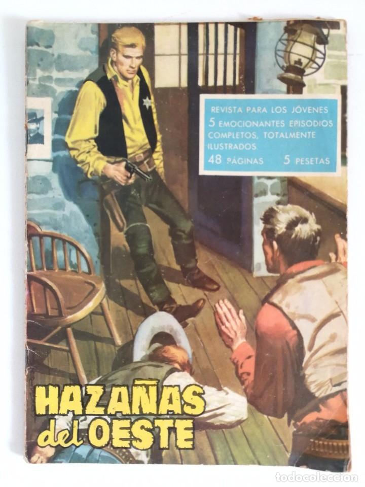 HAZAÑAS DEL OESTE Nº 19 (ED. TORAY 1959) 48 PÁGINAS (Tebeos y Comics - Toray - Hazañas del Oeste)