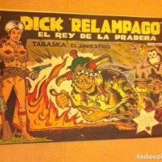 Tebeos: DICK RELÁMPAGO - Nº.60. Lote 177730569