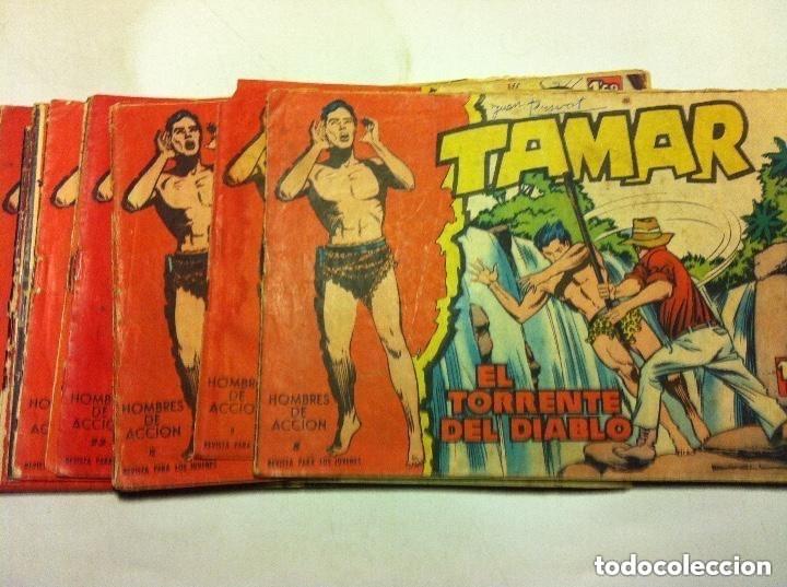 TAMAR -LOTE DE 22 (Tebeos y Comics - Toray - Tamar)