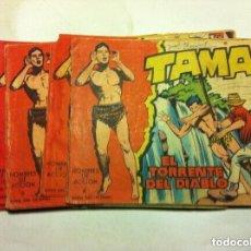 Tebeos: TAMAR -LOTE DE 22. Lote 177733342